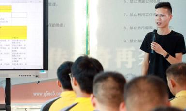 #技术总监进校园#欢迎成功毕业学子杨旭的到来